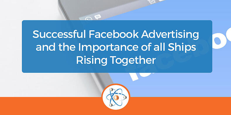Successful Facebook Advertising and the importance of all ships rising together banner