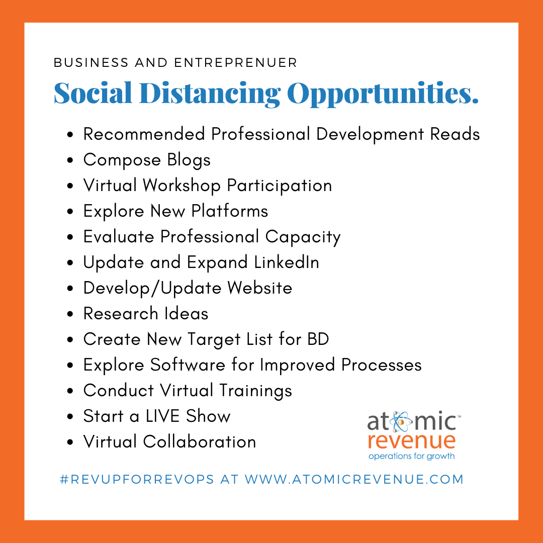 Business Social Distancing Opportunities