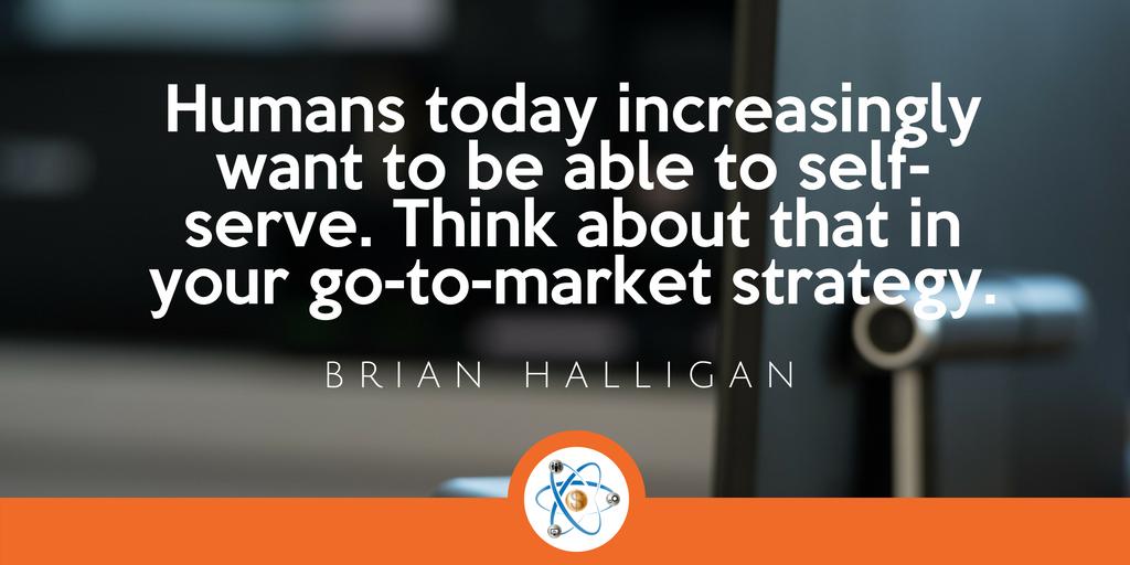 Self serve go to market strategy
