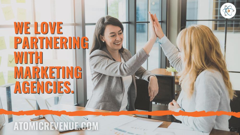 Marketing Agency Partner Revenue Operations Atomic