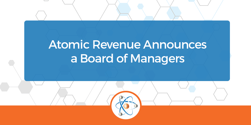 atomic revenue announces board of managers