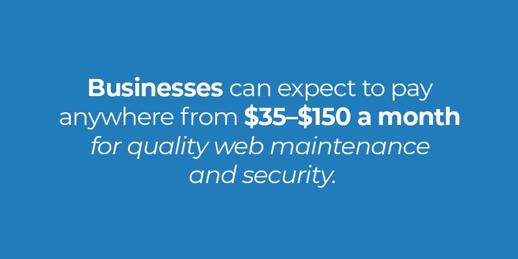 business-website-cost
