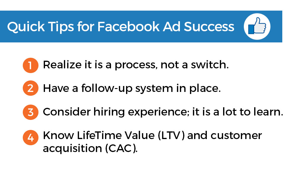 Facebook Ad tips