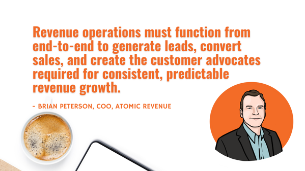 how revenue operations must function in your business